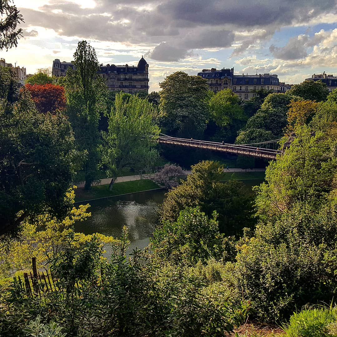 Buttes Chaumont North VIew